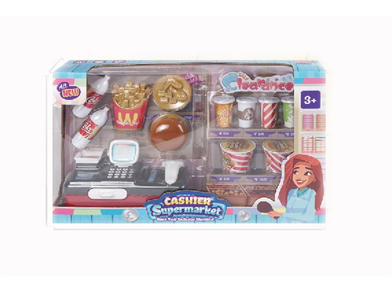 CASH REGISTER WITH FOOD SET